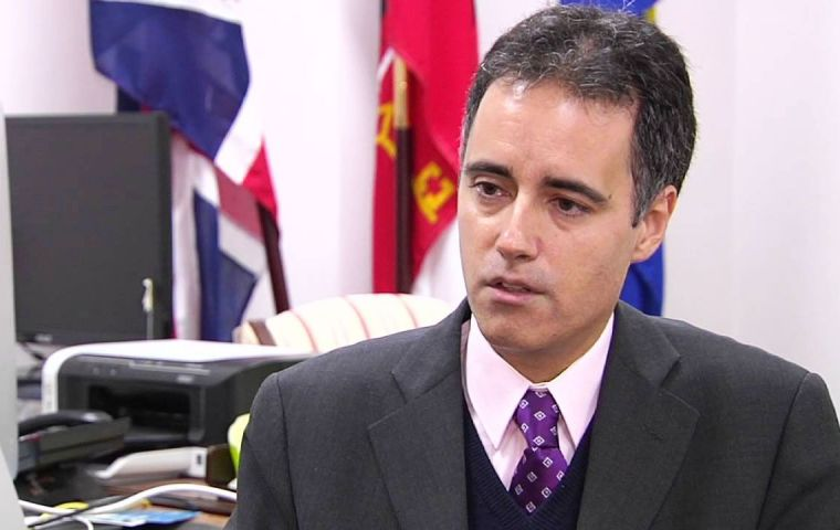 "Gibraltar Deputy Chief Minister Dr. Garcia will take the opportunity to discuss the on-going political situation in relation to ""Brexit"" in one-to-one meetings"