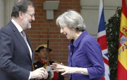 """Rajoy told PM May that Spain would support UK's integrity and would not encourage any type of secessionism related to the withdrawal from the EU"""