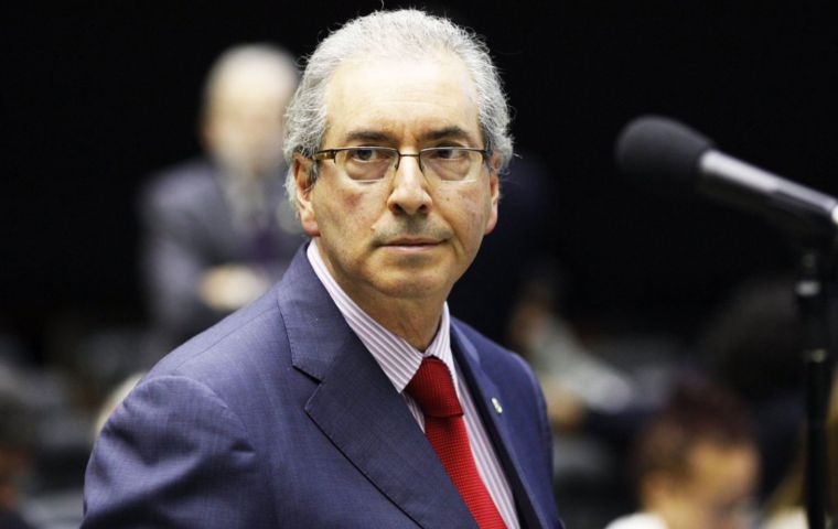 Cunha said last month he is working on a tell-all impeachment memoir and suggested he may turn state witness in the Lava Jato corruption investigation.