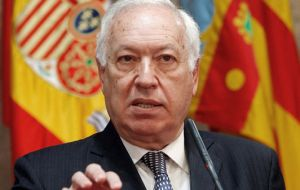 """Conversations have already started, but of course they are absolutely confidential and what they aim to do is establish what the scenarios are"" said García Margallo"