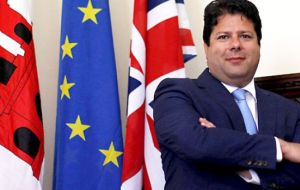 Chief Minister Fabian Picardo said that Spain remains the only stumbling block to the UK negotiating a different Brexit solution for Gibraltar
