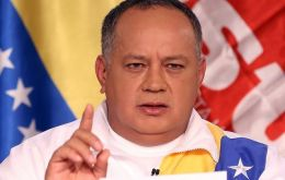 "Diosdado Cabello, a prominent Chavista, said Venezuela is the target of a ""germ warfare orchestrated by the CIA labs."""