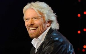 """I was never interested in going on a cruise,"" said Virgin Group founder Sir Richard Branson at Miami Beach, ""but I'm interested in a voyage""."