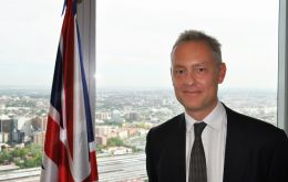Ambassador Manley's comments about Gibraltar are in direct contrast to the view expressed by Spain that insists Gibraltar cannot form part of the UK's exit deal.
