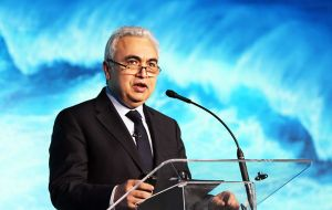 "IEA's Executive Director Fatih Birol said ""We are witnessing a transformation of global power markets led by renewables"""