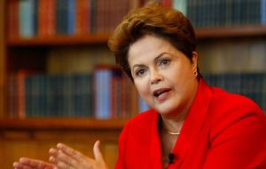 Rousseff did not cast a ballot either on Sunday in Porto Alegre after the PT candidate there was knocked out of the run-off race in early October.