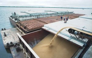 Argentina wheat exports in 2013-14 to Brazil dropped by more than half, to about 2 million tons