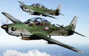 It paid US$3.52m to secure a contract for eight Super Tucano light attack airplanes to the Dominican Republic air force.