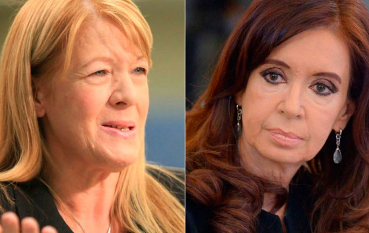 The case sponsored by lawmaker Margarita Stolbizer against Cristina Fernandez and her two children, Maximo and Florencia for alleged illicit enrichment