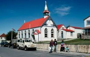 St Marys Catholic Church in Stanley, capital of the Falkland Islands