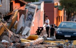 Chile hit but another earthquake, but no tsunami is in sight