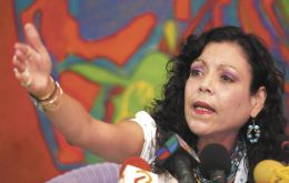 "Rosario Murillo, whom many see as already sharing power and positioned to go from vice president to head of state, described the vote as ""a historic election"""