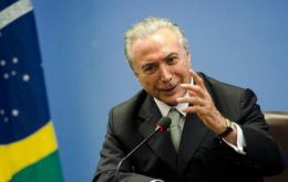 "Temer admitted concern but ""no US president can do whatever he pleases, since in the United States institutions work with an effective system of checks and balances"""