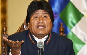 "In Bolivia Evo Morales said he was indifferent to whoever wins on Tuesday since ""there are no differences between candidates""."