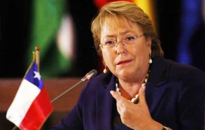 "Chile's Bachelet has no doubts about her support for Hillary. ""We have developed a good friendship"" and she is a very capable, intelligent and committed woman"