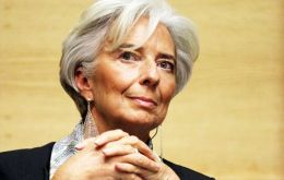 Christine Lagarde admits Argentina has made considerable progress under Macri
