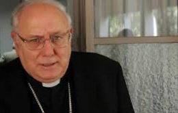 "Monsignor Arancedo called for a ""Christmas in Peace"", the most gracious Christian festivity when ""the birth of Christ, the Prince of Peace"""