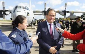 """We have to recover the military capacity of the country. In the Malvinas war, Argentina lost 70 aircraft and in the last ten years of Kirchnerism, because of lack of maintenance and investment, 100 p"