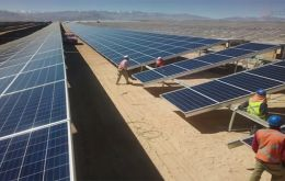 The El Romero Solar plant in Chile features 776,000 photovoltaic modules.