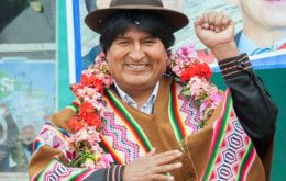 Evo Morales not ready to leave presidency after term ends