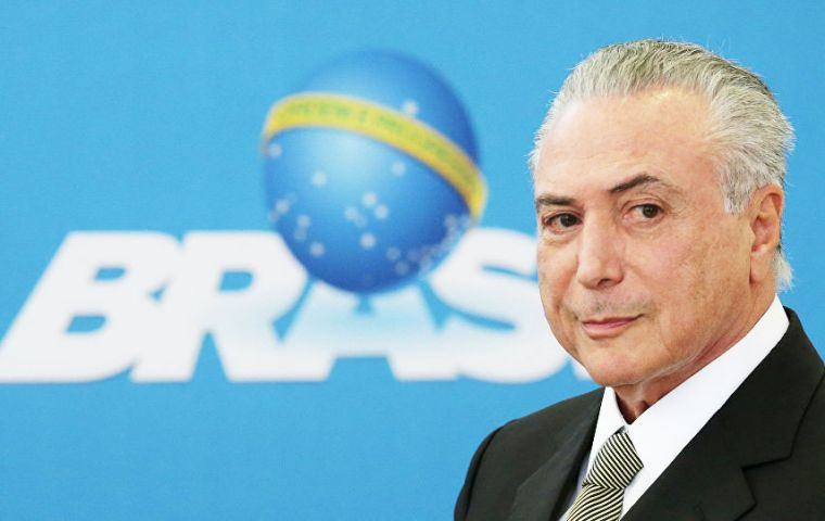 Temer has said he will not raise taxes unless reforms fail to pass; IMF directors warned tax hikes may need to wait until the economy is on stronger footing.
