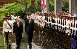 PM Trudeau is looking forward to working with presidents Castro and Macri to stimulate more trade and investment with Canada (Pic AFP)