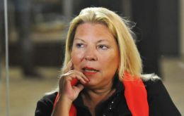 """I disagree with the text of the statement, but I do not believe it is a treaty"", said lawmaker Elisa Carrió during the debate on the issue"