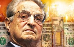 Millionaire George Soros known to many for his support of counter-revolutions where he dislikes the democratic outcome of an election.