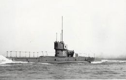 HMS E5 went down in 1916, found on Monday in North Atlantic Sea.