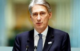 """Selling our shares in Lloyds Banking Group and making sure that we get back all the cash taxpayers... is one of my top priorities as chancellor,"" said Hammond."