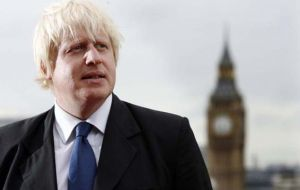 """We have first rate ambassador in Washington,"" Foreign Secretary Boris Johnson, who campaigned for Brexit, told the British parliament."