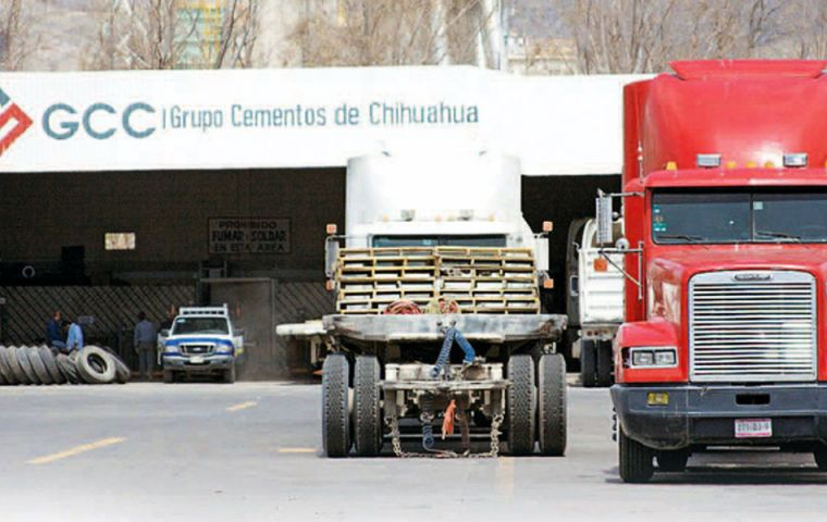 Chihuahua cement manufacturer wants in on the border wall business