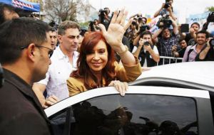 The former president must turn up on Tuesday, 29 November, before 13:00 hours at the Buenos Aires court. If not she will be detained and taken by force