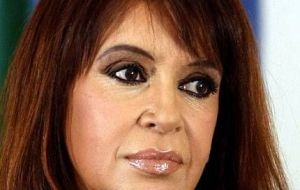Cristina Fernandez was supposed to turn up at Bonadío's court in Buenos Aires this Friday, but instead showed up at the Rio Gallegos court house