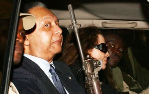 "Last December the Swiss court confirmed the blocking of US$ 4.5 million in a Geneva placed by an ex minister of dictator Jean-Claude ""Baby Doc"" Duvalier."