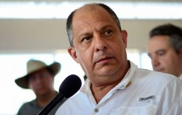 "Costa Rican President Luis Guillermo Solis was quick to announce ""Deceased: zero""; then he needed to rephrase: ""Nine casualtires""."