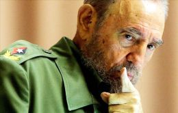 """I was defending the Malvinas claim since 1948. Over sixty years ago, as a university student I started to defend the Malvinas cause"" confessed Fidel Castro"