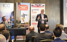 """I am looking forward to coming here again to talk business in one of the world's most important emerging economies"", the British MP said."