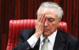 President Michel Temer said he would veto any amnesty attempt from Brazilian politicians under suspicion of corruption