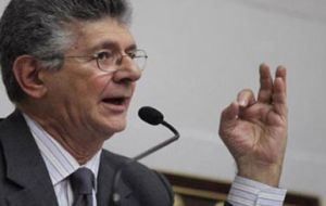 """Inflation galloping, the Bolivar melts, unrest worsens and the government rectifies nothing,"" said Henry Ramos Allup, president of Venezuela's National Assembly"
