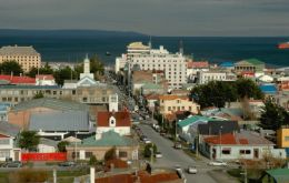 Punta Arenas, capital of Magallanes, a hub for cruise tourism and supplying Antarctica bases during summer months