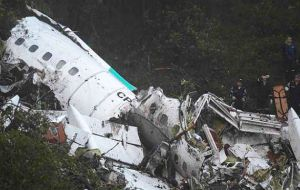 Chapecoense officials stand by their decision to fly LAMIA