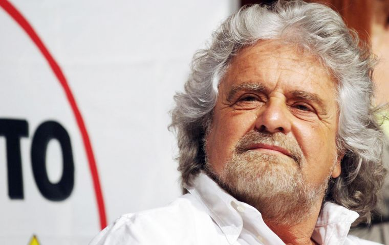 """Today saying No is the most beautiful and glorious form of politics....Whoever doesn't understand that can go screw themselves"", Beppe Grillo said"