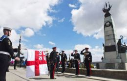 The 1914 Battle of the Falkland Islands Memorial