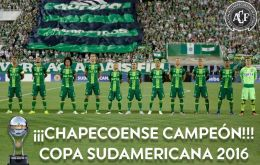 Conmebol declares Chapecoense winners of the match they were enroute to playing when their airplane crashed