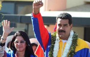 Nicolas Maduro vows tol never surrender