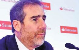 Santander Mexico CEO Hector Grisi announces new investment despite Trump-wave uncertainty