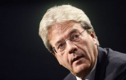 Foreign Minister Paolo Gentiloni becomes Italy's new Prime Minister following the resignation of Matteo Renzi