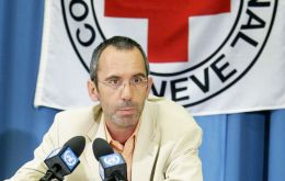 The talks were chaired by ICRC Director of Operations Dominik Stillhart
