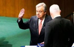 "Guterres said he would make conflict prevention his top priority. ""Where prevention fails, we must do more to resolve conflicts,"" he said"